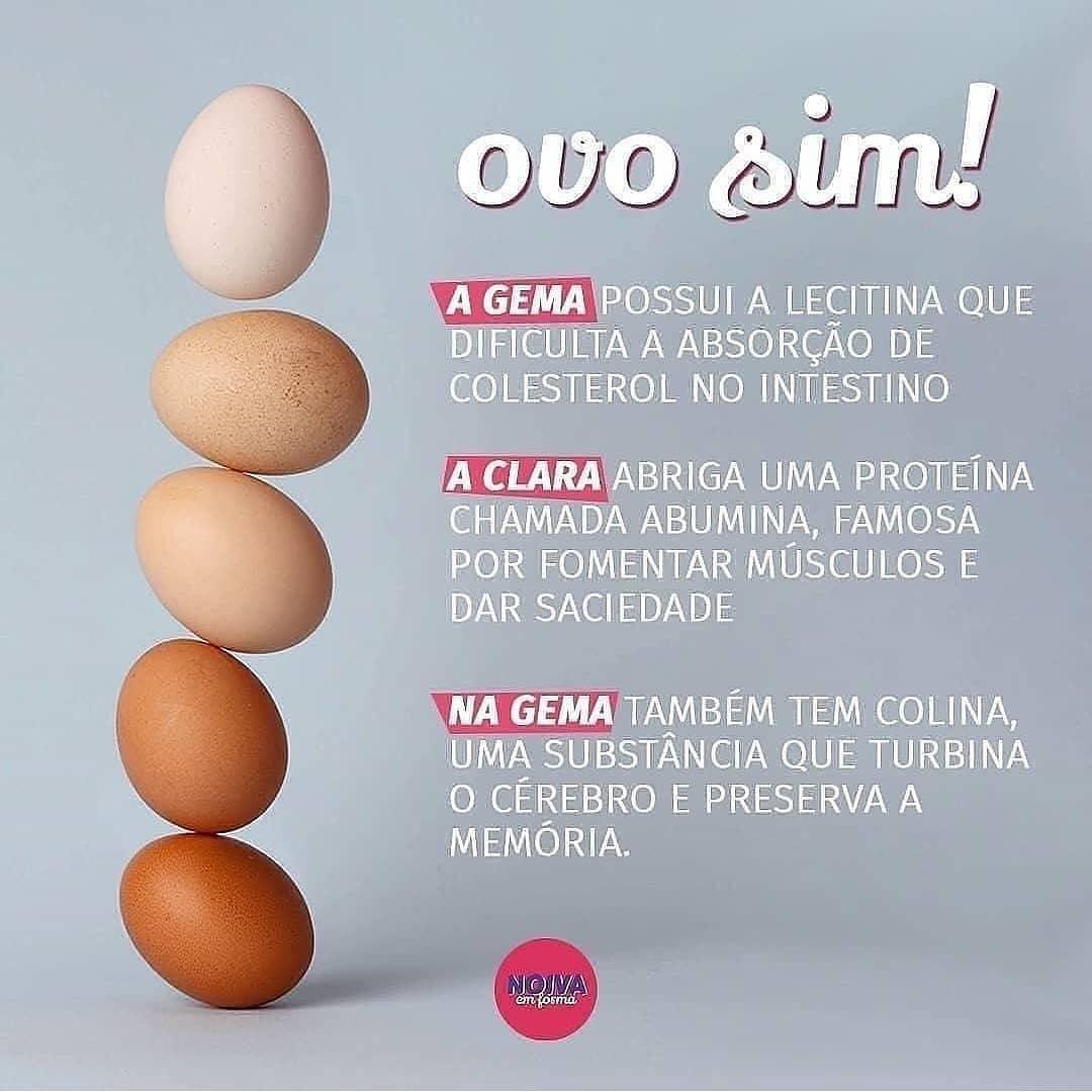 beneficios do consumo de ovos