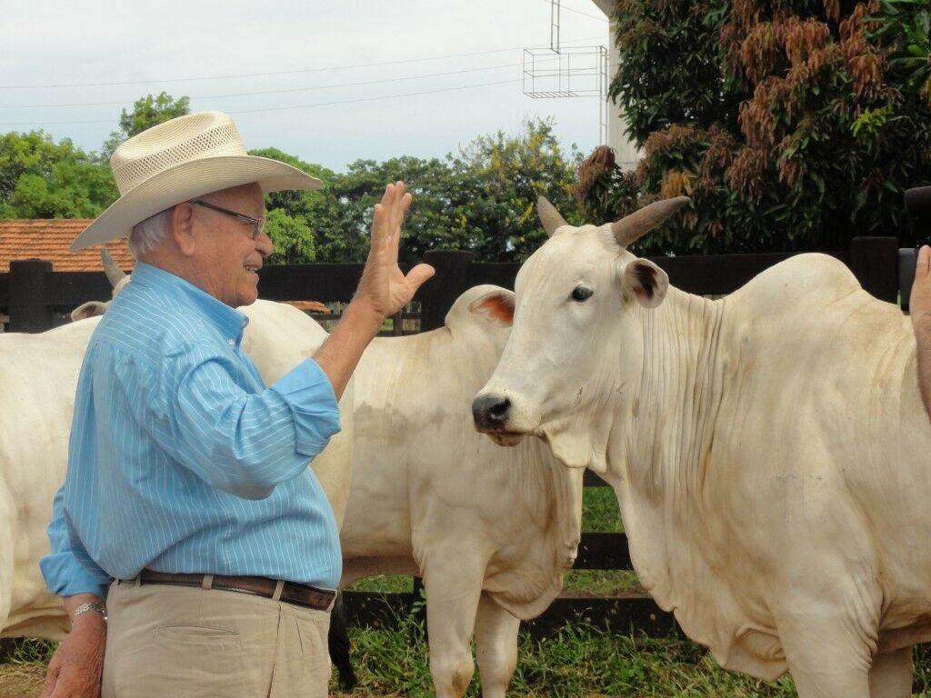 Senhor Udelson Nunes Franco - Fazenda Angico - Campina Verde