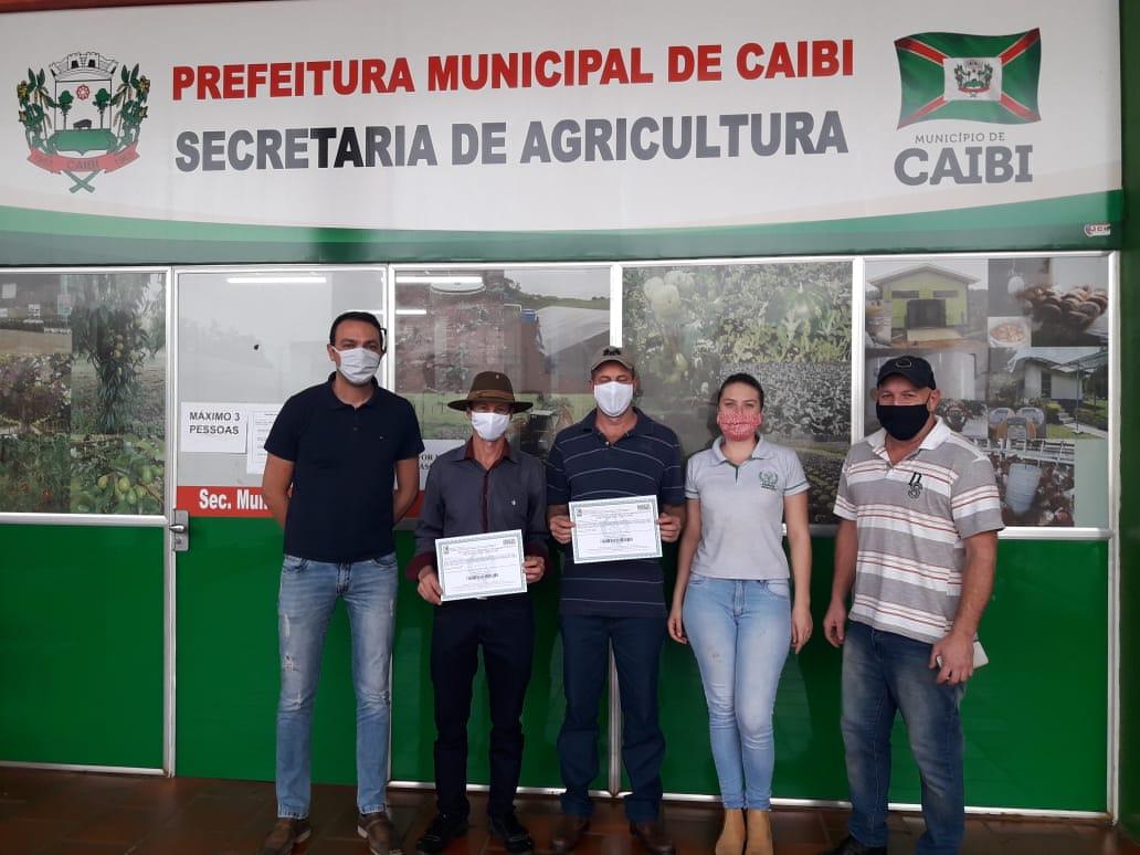 Empresários rurais certificados