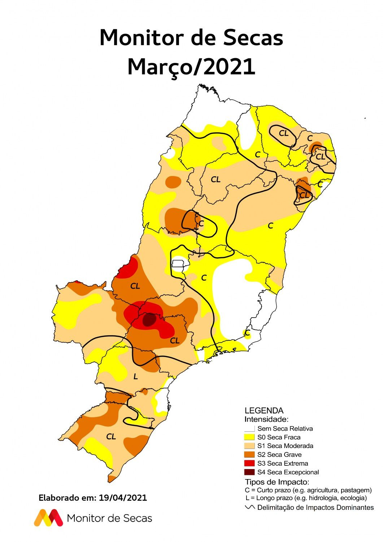 seca extrema na estacao das aguas