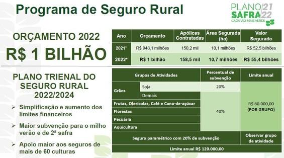 programa de seguro rural do plano safra 2021 2022