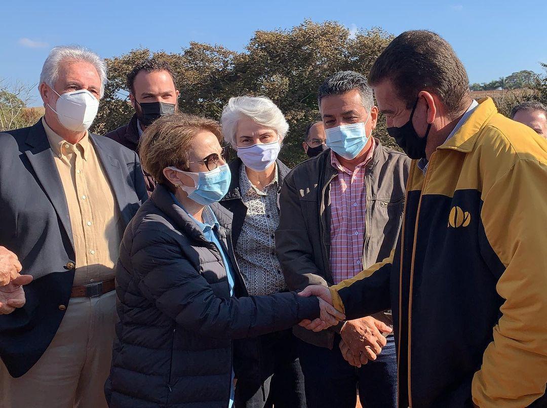 Tereza Cristina esteve em Alfenas (MG), onde visitou lavouras e ouviu as demandas dos produtores locais de café 3